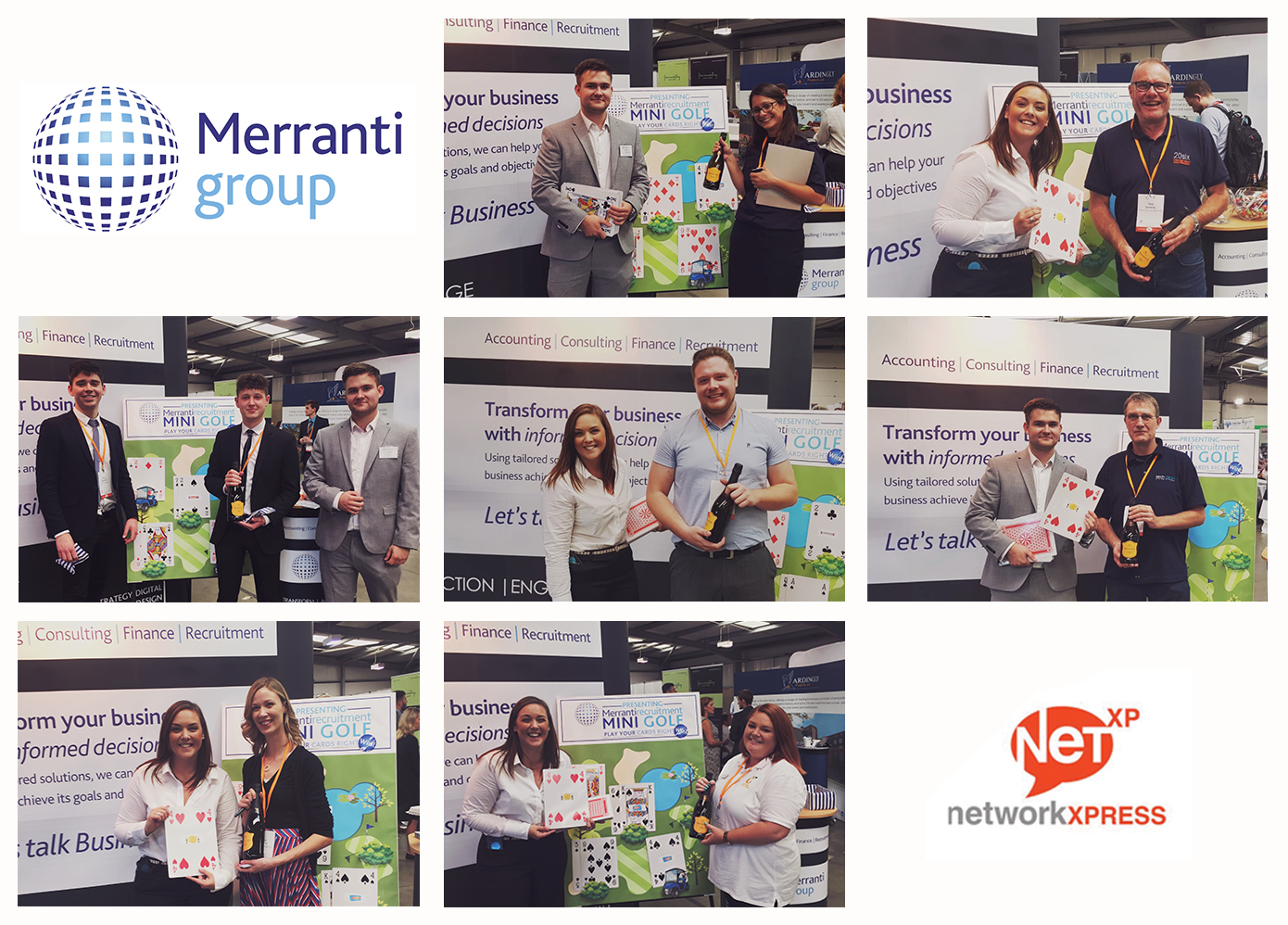 Merranti at Net XP, Play Your Cards Right Winners